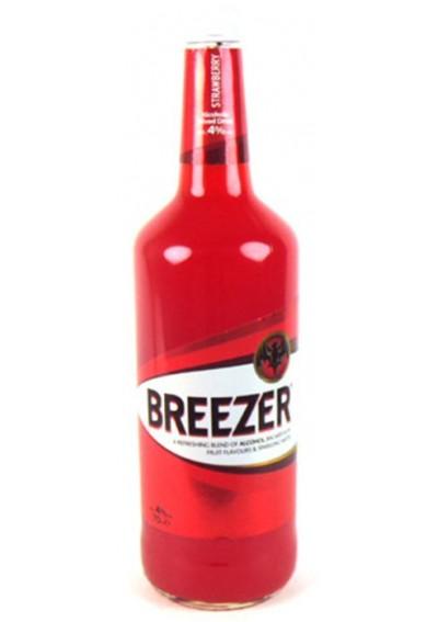 Bacardi Breezer Strawberry 0,275lt