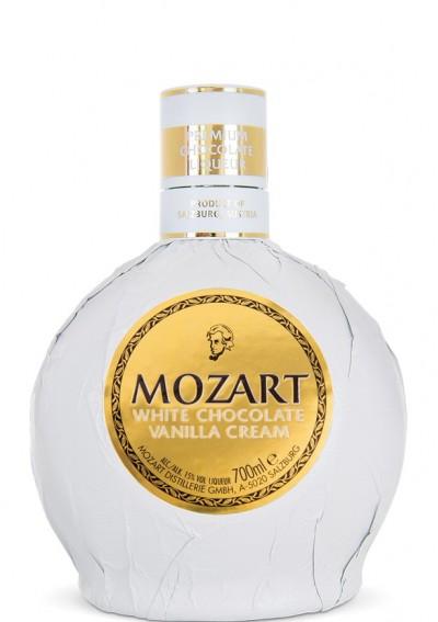 Mozart White Chocolate Vanilla Cream 0,70lt