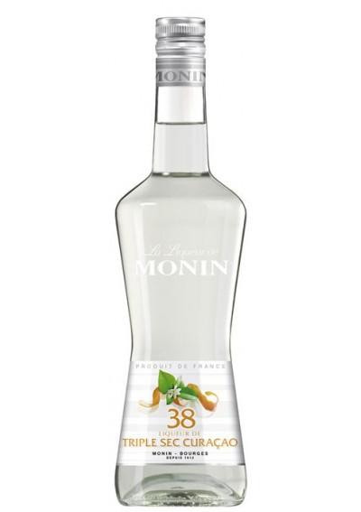 MONIN 38° Triple Sec Curacao liqueur 0,70lt