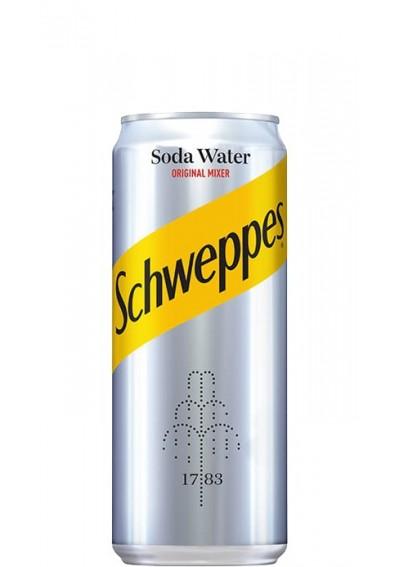 Schweppes Soda Water 0,33lt