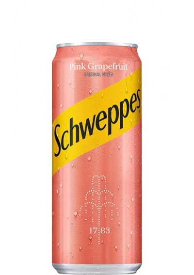 Schweppes Pink Grapefruit 0,33lt