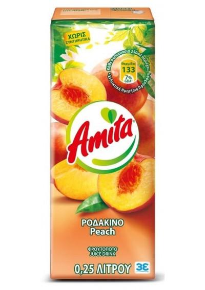 Amita Ροδάκινο 0,25lt