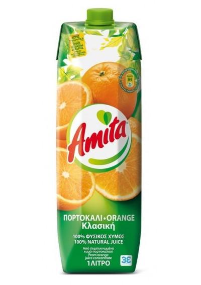 Amita Orange 100% 1lt