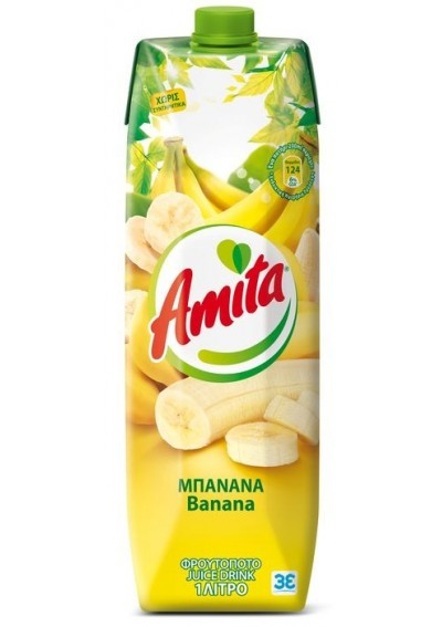 Amita Banana 1lt