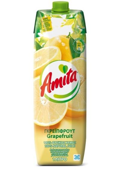 Amita Γκρέιπφρουτ 1lt
