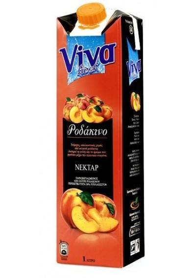 Viva Peach Nectar 1lt