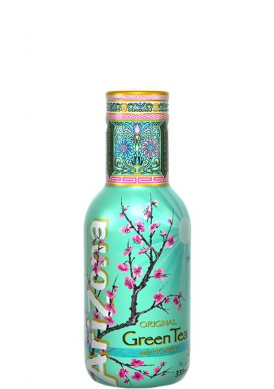 AriΖona Πράσινο Τσάι με Μέλι (Glass) 0,33lt
