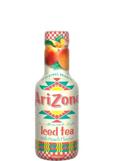 AriZona Μαύρο Τσάι με Ροδάκινο (PET) 0,45lt