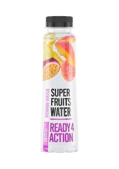 Super Fruits Βιταμινούχο Νερό Ready 4 Action 0.33lt