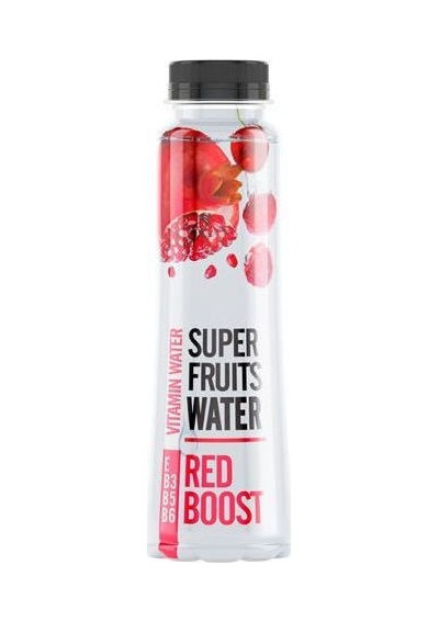 Super Fruits Βιταμινούχο Νερό Red Boost 0.33lt