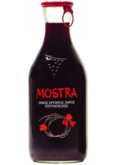 Mostra Red 0,50lt