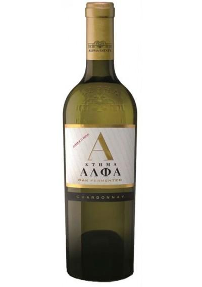 Κτήμα Αλφα Chardonnay 1,5lt