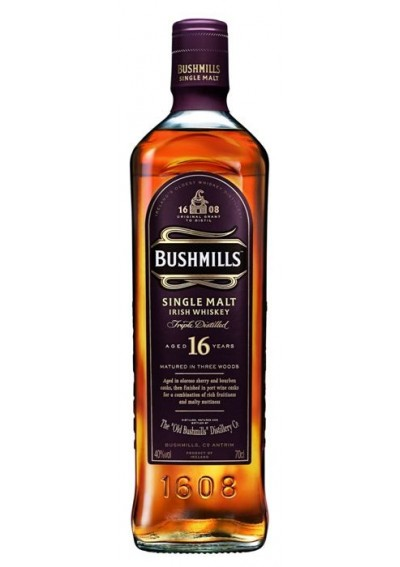 Bushmills 16 Ετών 0,70lt