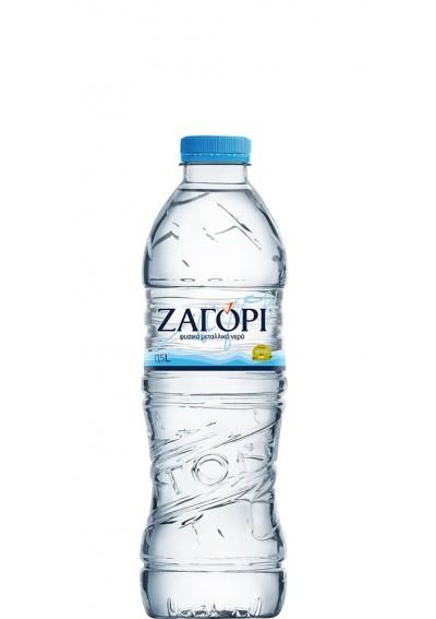 Φυσικό Μεταλλικό Νερό Ζαγόρι (PET) 24τμχ 0,50lt