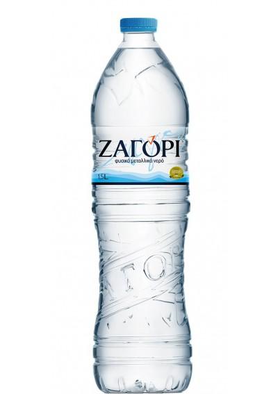 Φυσικό Μεταλλικό Νερό Ζαγόρι (PET) 1,5lt