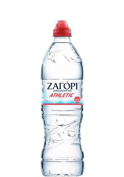 Φυσικό Μεταλλικό Νερό Ζαγόρι Athletic (PET) 0,75lt
